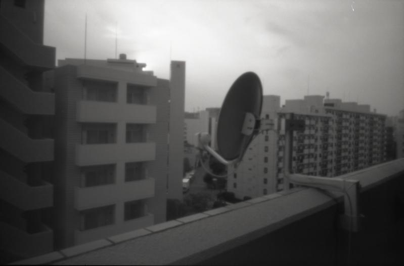 a parabolic antenna