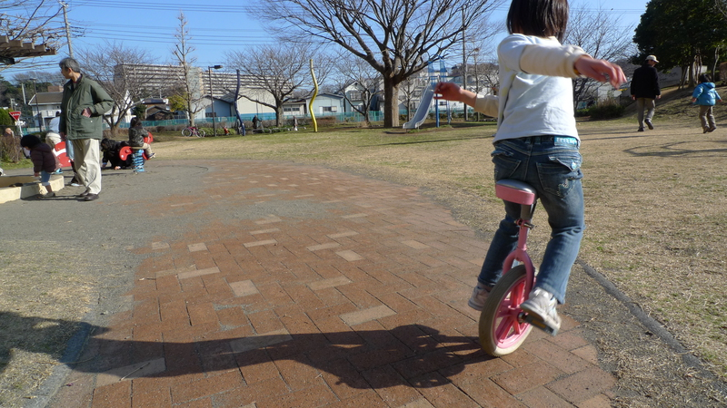 a unicyclist